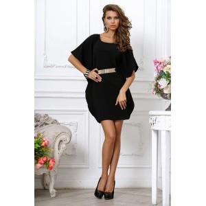 Стильное дизайнерское платье-мини арт 3L930A.