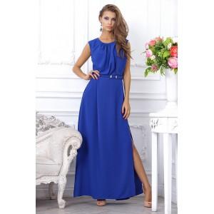 Вечернее длинное платье с разрезом арт 4CB6374.