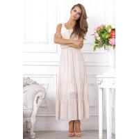 Модное платье-сарафан, длиной до щиколотки арт A3765
