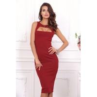 Элегантное кплатье без рукавов арт 21096.