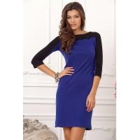 Приталенное женское платье, длиной выше колена арт 27781.
