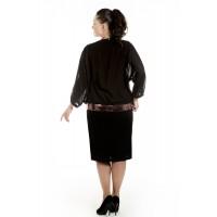 Комплект (Блуза+Платье) арт. 2684